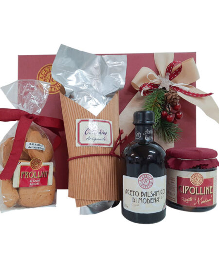 Cesta regalo Auguri di Natale - Modena Gourmet