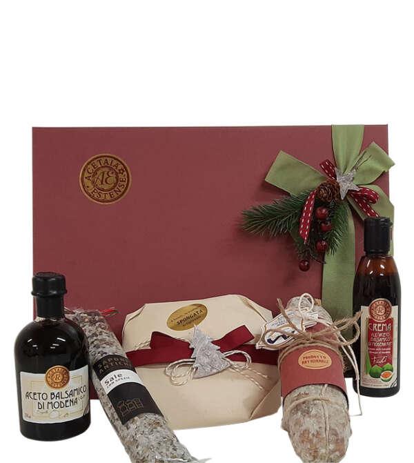 natale goloso - cesta regalo di natale - modena gourmet