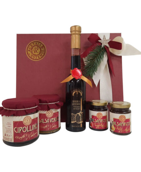 Cesta di Natale - profumo di balsamico - modena gourmet