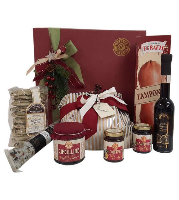 santo natale - cesta regalo di natale - Modena Gourmet