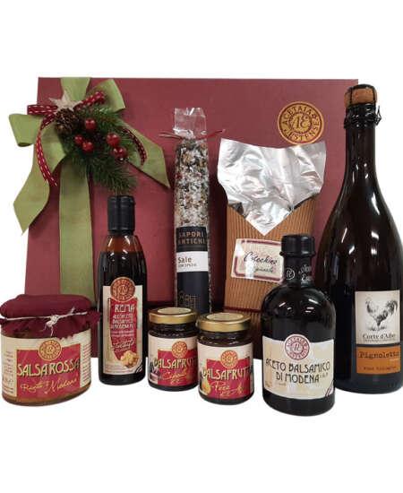 santo stefano - cesta regalo di natale - Modena Gourmet